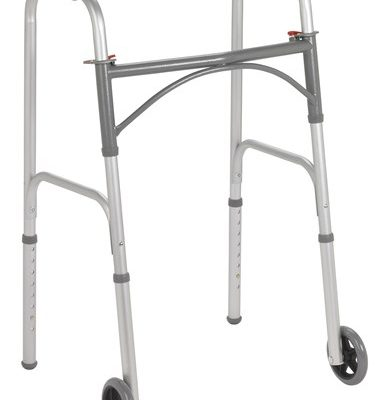 folding-walker-two-button-with-5-wheels