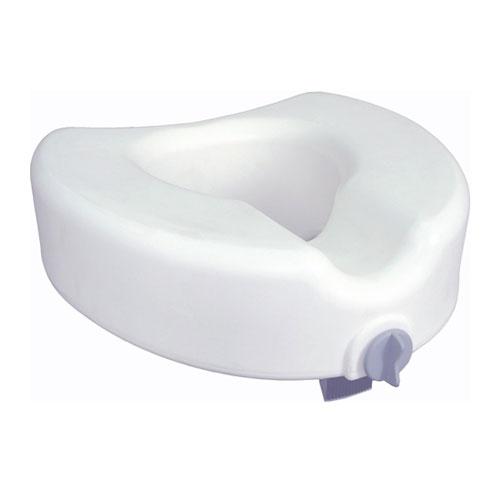 Premium Plastic Raised Regular Elongated Toilet Seat