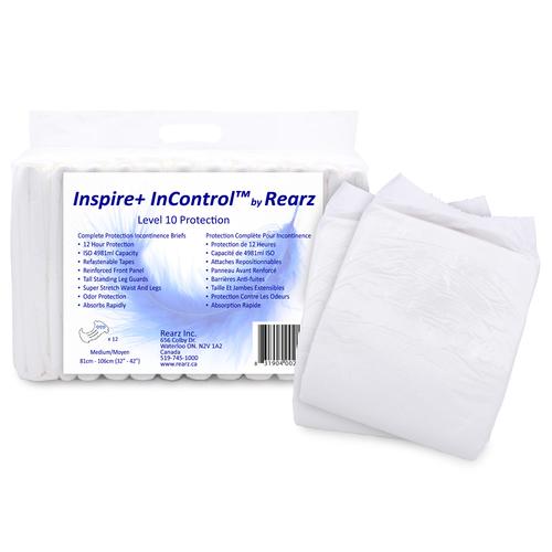 Rearz Inspire+ InControl Super Absorbent Adult Diapers  I+9/I+10/I+11