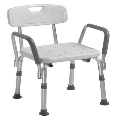 Buy Bath Benck with Back and Removable Padded Arms